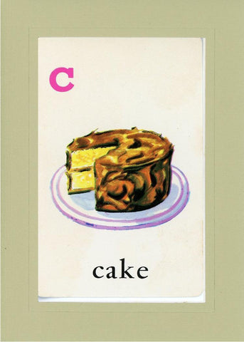 C is for Cake - PLYMOUTH CARD COMPANY  - 25