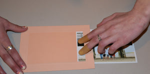 Soft Pink #E050-Photo note cards-Plymouth Cards
