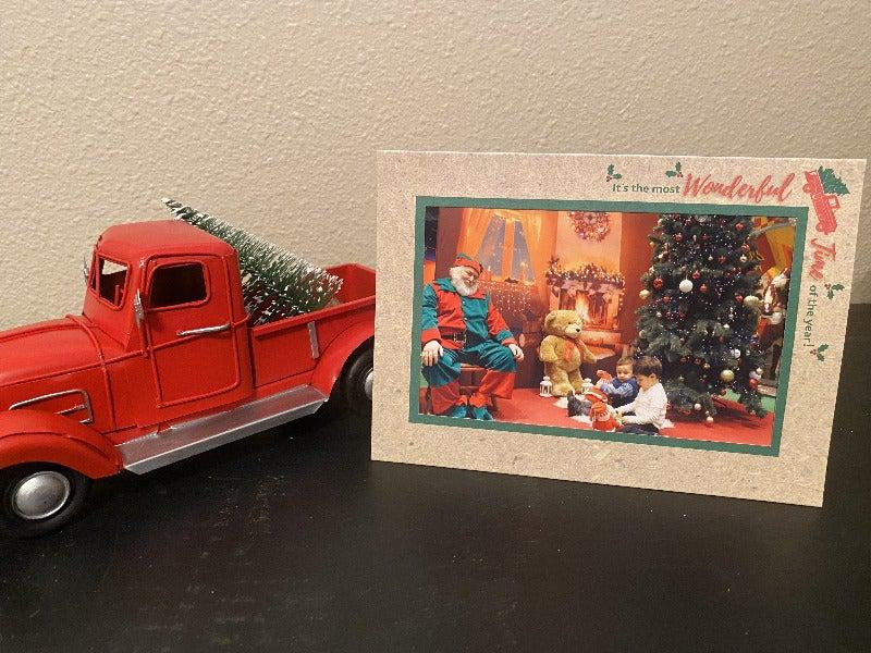Red Truck-Photo note cards-Plymouth Cards