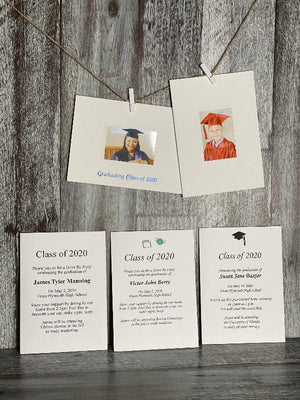 Class of 2020 Graduation Announcement Cards