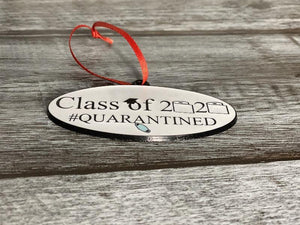 Class of 2020 ornament thickness shown