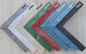 Picture Frame Wood Colors
