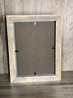 Red Rustic Picture Frame-Plymouth Cards