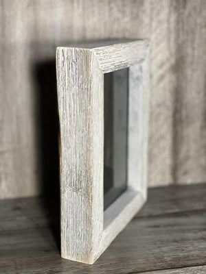 Side of wooden frame
