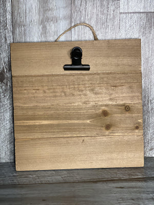 Wood Pallet card wall hanging-Plymouth Cards
