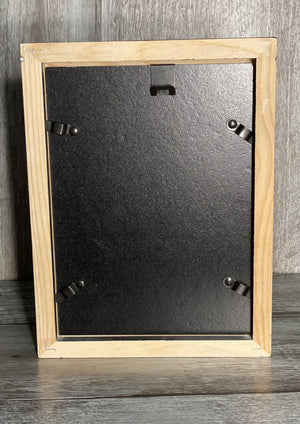 Black Solid Picture Frame-Plymouth Cards