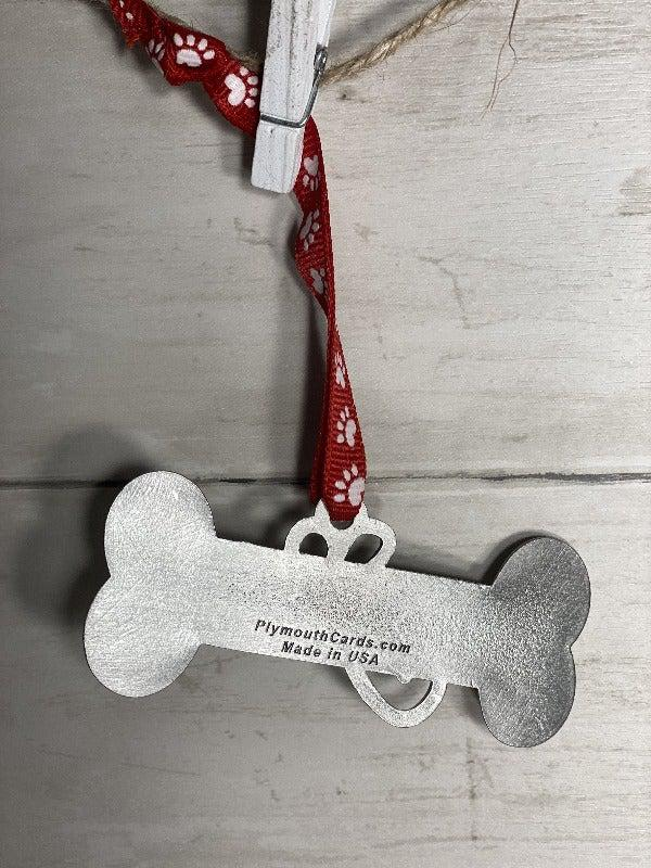 Dog Bone Ornament-Plymouth Cards