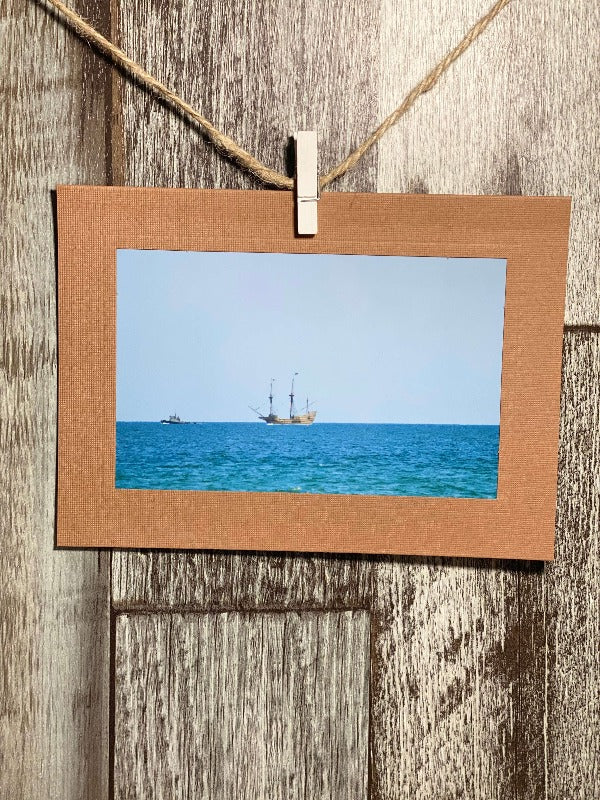 Mayflower Going Home-Plymouth Cards