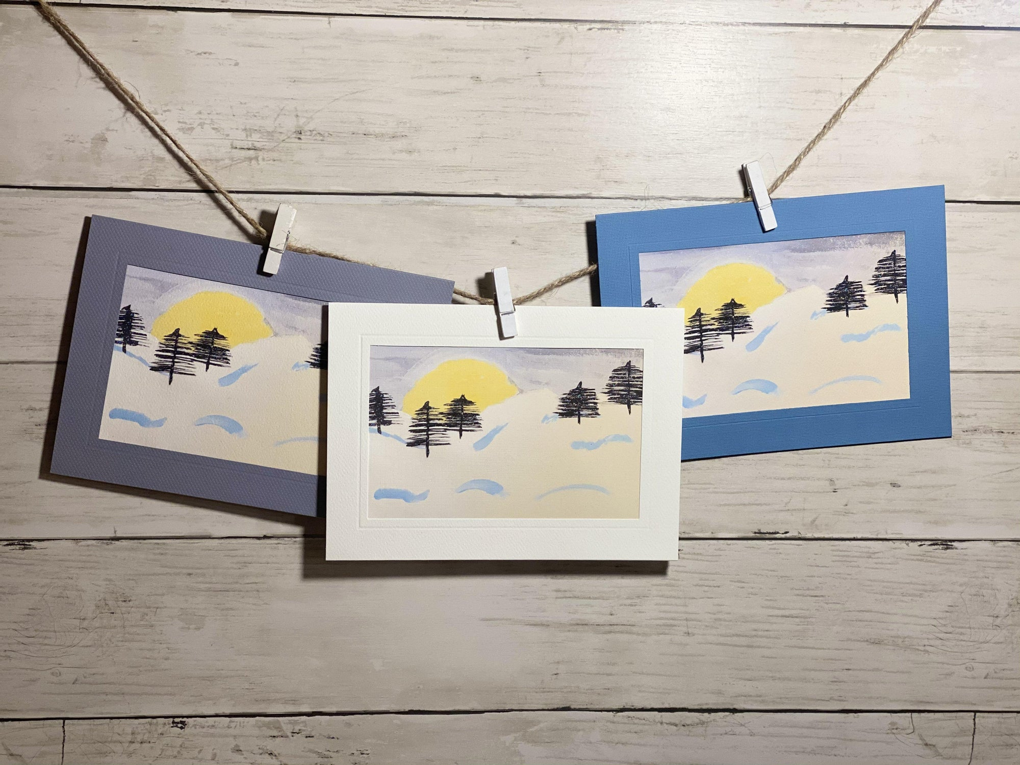 Snowy Trees-Plymouth Cards