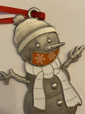 Decal mask Clarence the Snowman Ornament-Plymouth Cards
