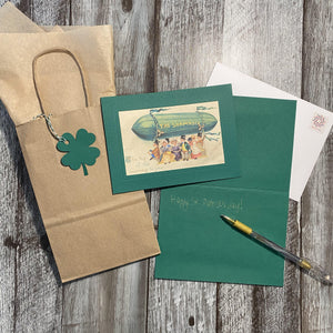 St. Patrick's Day ~ The Shamrock-Greetings from the Past-Plymouth Cards