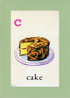 C is for Cake - PLYMOUTH CARD COMPANY  - 28