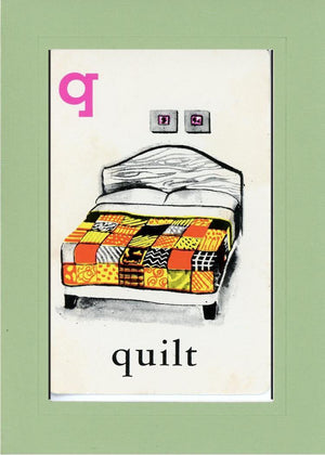 Q is for Quilt - PLYMOUTH CARD COMPANY  - 25