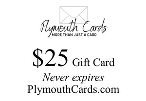 Plymouth Cards gift card