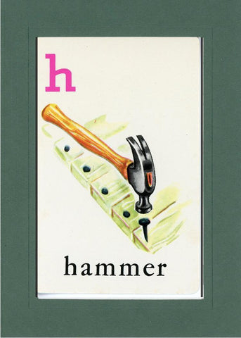 H is for Hammer - PLYMOUTH CARD COMPANY  - 33