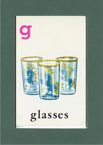 G is for Glasses - PLYMOUTH CARD COMPANY  - 33
