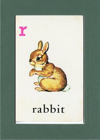 R is for Rabbit - PLYMOUTH CARD COMPANY  - 26