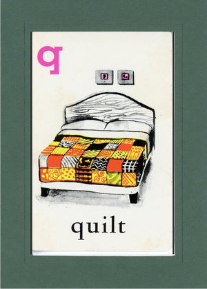 Q is for Quilt - PLYMOUTH CARD COMPANY  - 26