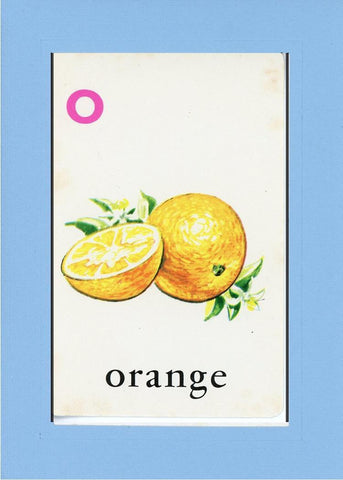 O is for Orange - PLYMOUTH CARD COMPANY  - 26