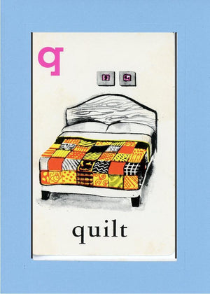 Q is for Quilt - PLYMOUTH CARD COMPANY  - 27