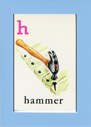 H is for Hammer - PLYMOUTH CARD COMPANY  - 28