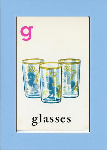 G is for Glasses - PLYMOUTH CARD COMPANY  - 27