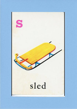 S is for Sled - PLYMOUTH CARD COMPANY  - 27