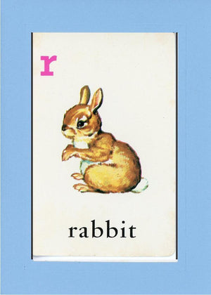 R is for Rabbit - PLYMOUTH CARD COMPANY  - 27