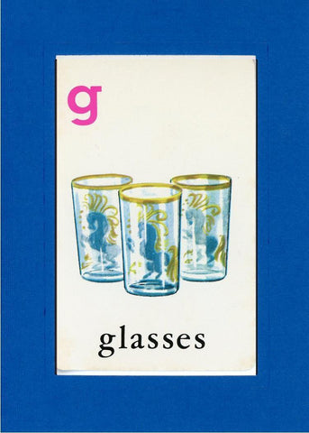 G is for Glasses - PLYMOUTH CARD COMPANY  - 23