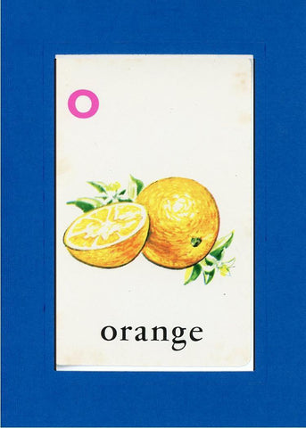 O is for Orange - PLYMOUTH CARD COMPANY  - 27