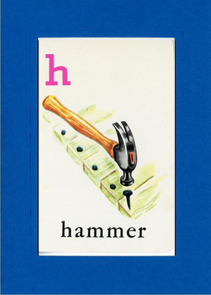 H is for Hammer - PLYMOUTH CARD COMPANY  - 23