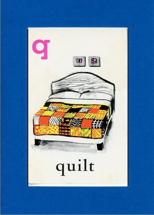 Q is for Quilt - PLYMOUTH CARD COMPANY  - 28
