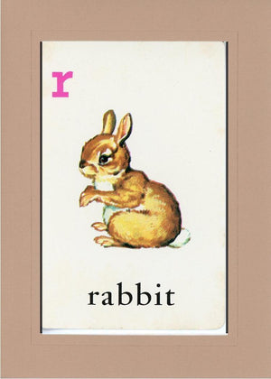 R is for Rabbit - PLYMOUTH CARD COMPANY  - 29