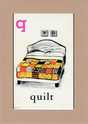 Q is for Quilt - PLYMOUTH CARD COMPANY  - 29