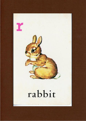 R is for Rabbit - PLYMOUTH CARD COMPANY  - 30
