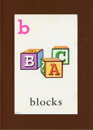 B is for blocks - PLYMOUTH CARD COMPANY  - 19
