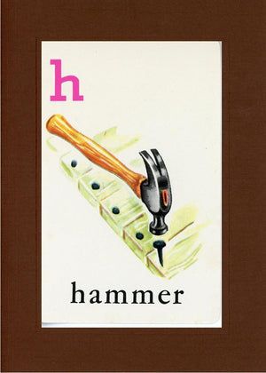 H is for Hammer - PLYMOUTH CARD COMPANY  - 20