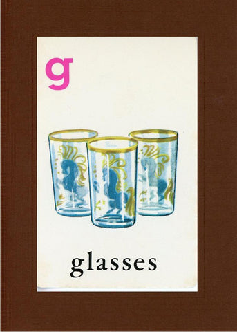 G is for Glasses - PLYMOUTH CARD COMPANY  - 20