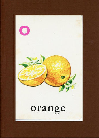 O is for Orange - PLYMOUTH CARD COMPANY  - 29