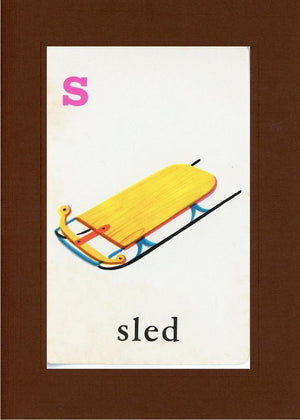 S is for Sled - PLYMOUTH CARD COMPANY  - 30