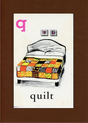 Q is for Quilt - PLYMOUTH CARD COMPANY  - 30