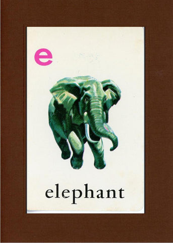 E is for Elephant - PLYMOUTH CARD COMPANY  - 20