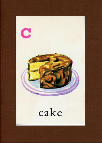 C is for Cake - PLYMOUTH CARD COMPANY  - 19