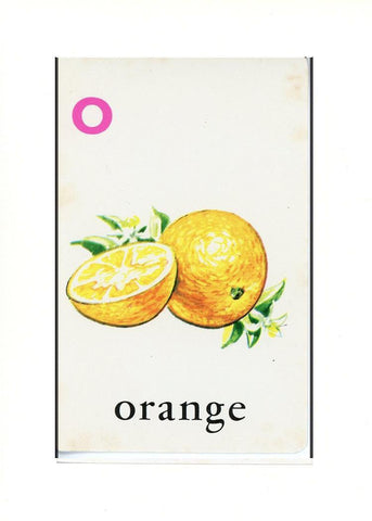 O is for Orange - PLYMOUTH CARD COMPANY  - 30