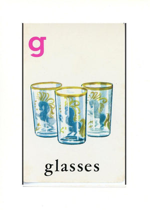 G is for Glasses - PLYMOUTH CARD COMPANY  - 32