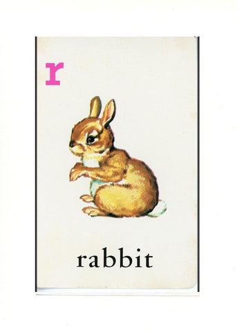 R is for Rabbit - PLYMOUTH CARD COMPANY  - 31
