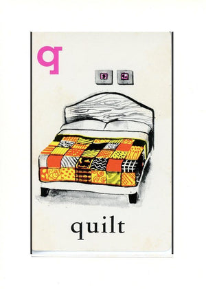 Q is for Quilt - PLYMOUTH CARD COMPANY  - 31