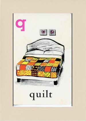 Q is for Quilt - PLYMOUTH CARD COMPANY  - 32