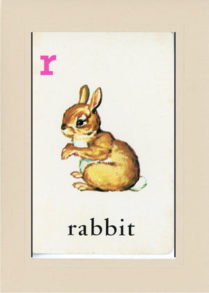 R is for Rabbit - PLYMOUTH CARD COMPANY  - 32