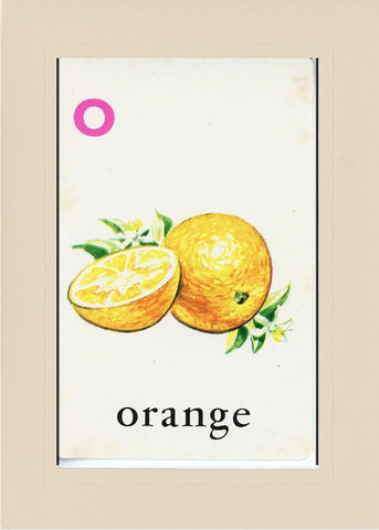 O is for Orange - PLYMOUTH CARD COMPANY  - 31